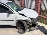 Accident pe DN 1A, în Crevedia. Un bărbat a ajuns la spital