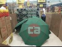 Imagini șocante în Brazilia. Cum au ascuns angajații unui magazin cadavrul unui bărbat