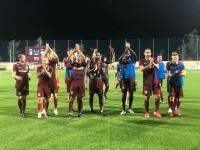 CFR Cluj s-a calificat în turul doi preliminar al Ligii Campionilor. Dan Petrescu: Scorul este mincinos