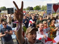 """UE cere """"eliberarea imediată"""" a opozanţilor închişi în Belarus"""