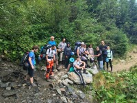 """2 zile libere de la serviciu pentru a """"vopsi pietre"""" în Munții Făgăraș"""