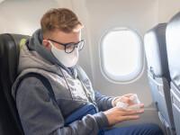 Cât de mare e riscul să te infectezi cu COVID-19 în avion. Rezultatele experimentelor