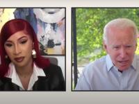 """VIDEO. Cardi B l-a intervievat pe Joe Biden. """"Mai întâi, vreau ca Trump să plece"""""""