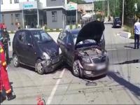 Un șofer care nu a acordat prioritate a trimis 3 oameni în spital. Printre ei și o gravidă