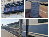 O locomotivă a plecat din Piatra Neamț fără călătorii din vagoane. Ce s-a întâmplat