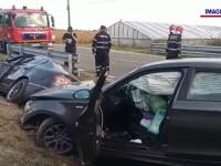 Două femei însărcinate, rănite într-un accident grav.