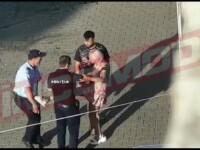 VIDEO. Scandal în Mizil. Un polițist și un jandarm au fost agresați de o femeie