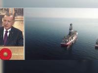 Tensiuni între Turcia și Grecia, după ce Erdogan ar fi descoperit rezerve uriașe de gaze naturale în Mediterana