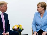 VIDEO. Reacția virală a Angelei Merkel când este întrebată dacă a fost fermecată de Donald Trump