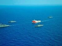 """Turcia acuză Grecia că încearcă să """"înarmeze"""" o insulă demilitarizată din estul Mediteranei"""