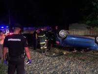 Ce au făcut mai mulți săteni martori la un accident extrem de grav, în Botoșani