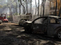 Incendiu în Grecia