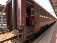 """Pasagerii din garniturile CFR stau cu orele blocați în vagoane, sub un soare arzător, în fiecare zi: """"Sub orice critică"""""""
