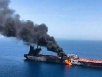 Reacția României după atacarea navei Mercer Street, în urma căruia un român a murit. Ambasadorul Iranului, convocat la MAE