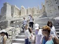 Grecia, Acropole, canicula