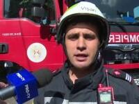 Incendiu într-un apartament din Târgoviște. Locatarii spun că a izbucnit de la aerul condiționat