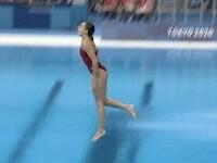 VIDEO. Ce a făcut sportiva care a primit nota 0.0 la Jocurile Olimpice de la Tokyo