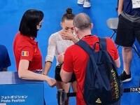 """Larisa Iordache, în lacrimi după retragerea din finala olimpică la bârnă. """"Durerea este peste limita mea de suportabilitate"""""""