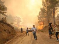 Incendiu în Turcia