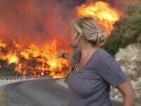 Turcia e devastată de incendiile de vegetație. Vântul fierbinte poartă scântei în toate direcţiile