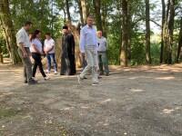 Klaus Iohannis, în vizită la Parcul Natural Comana. Ce urmează să facă președintele