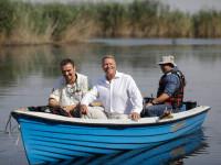 """Klaus Iohannis, în vizită la Parcul Natural Comana. """"Vreau să atrag atenţia asupra importanţei acestor zone naturale"""""""