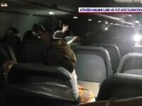 Bărbat legat cu bandă adezivă de scaun după ce a făcut scandal într-un avion, în SUA