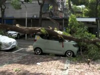 Un taifun a făcut prăpăd într-un oraș din China. Curățenia va dura cel puțin o săptămână