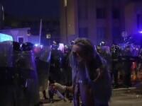 Proteste violente, după introducerea unor noi măsuri sanitare. Zeci de oameni au fost arestați în Lituania