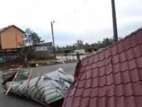 Furtunile violente și ploile torențiale au făcut ravagii în mai multe zone ale țării
