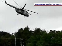 Un elicopter al marinei mexicane a aterizat forțat, lovind un microbuz