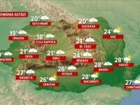 Vreme instabilă și risc major de inundații. Care este prognoza pentru următoarele zile