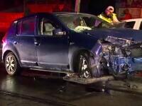 Un tânăr de 21 de ani s-a urcat beat la volan și a provocat un accident, în Capitală