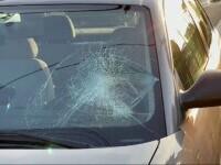 """Un bărbat a fost spulberat de o mașină chiar pe trecerea de pietoni, în Timișoara: """"Mi-a sărit în față"""""""