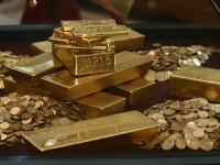 Record istoric: aproape 1.100 de dolari pentru 28 de grame de aur