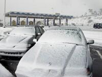 Iarna s-a instalat hotarat in jumatate din Europa!
