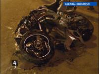 Un motociclist, bagat in spitalul in fata caruia a fost accidentat