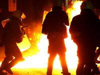 Din nou proteste violente la Atena!