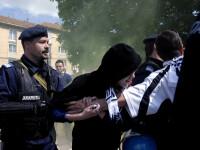 Cameramanul Jandarmeriei Cluj, batut de fanii Universitatii, in stare grava