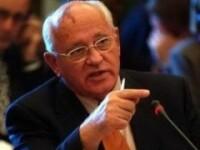 Mihail Gorbaciov s-a apucat de cantat! De dorul sotiei!