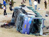 Autobuz iranian, rasturnat intr-o rapa in Turcia. 3 morti si 50 de raniti