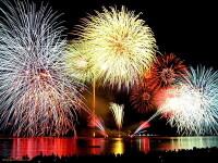 Zeci de mii de oameni au venit sa vada Festivalul artificiilor din Rusia!