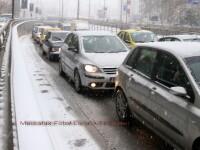 Accidente in lant pe A1! Noua oameni raniti si 28 de masini faramate!