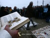 Doliu la Timisoara! Drapelele in berna, in cinstea eroilor Revolutiei!