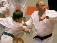 Vladimir Putin s-a luat la tranta! La propriu!