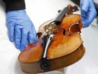 O vioara Stradivarius de aproape 2 mil. de dolari,furata dintr-un fast-food