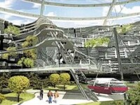 Imagini uimitoare! Un oras construit parca dupa modelele lui Jules Verne!