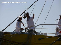 Un marinar a fost gasit spanzurat la bordul vasului, in Constanta