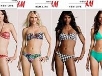 Adevarul despre supermodelele H&M. Trupurile perfecte care prezinta lenjeria nu exista cu adevarat