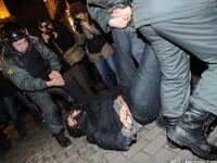 Putin, tot mai contestat de rusi. 80.000 de oameni au iesit in strada, doar in Moscova
